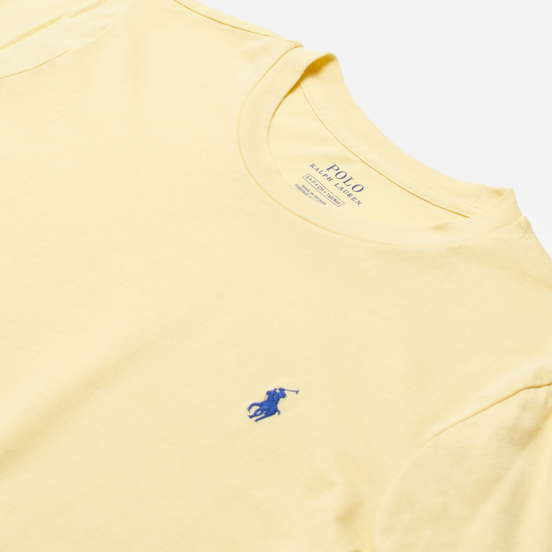 Женский лонгслив Polo Ralph Lauren Crew Neck 30/1 Cotton Jersey Banana Peel