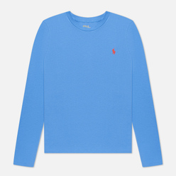 Женский лонгслив Polo Ralph Lauren Crew Neck 30/1 Cotton Jersey Resort Blue