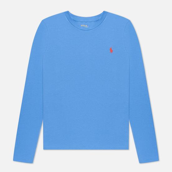 Женский лонгслив Polo Ralph Lauren Crew Neck 30/1 Cotton Jersey Resort Blue