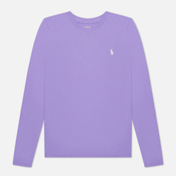 Женский лонгслив Polo Ralph Lauren Crew Neck 30/1 Cotton Jersey Spring Violet