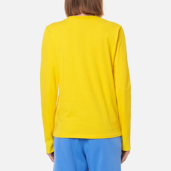 Женский лонгслив Polo Ralph Lauren Crew Neck 30/1 Cotton Jersey University Yellow