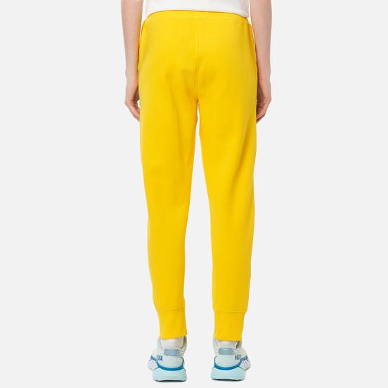 Женские брюки Polo Ralph Lauren Polo Pony Mini Logo Ankle Featherweight Fleece University Yellow