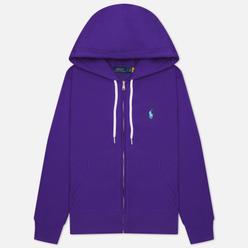 Женская толстовка Polo Ralph Lauren Featherweight Fleece Zip Hoodie Purple Rage