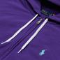 Женская толстовка Polo Ralph Lauren Featherweight Fleece Zip Hoodie Purple Rage фото - 1