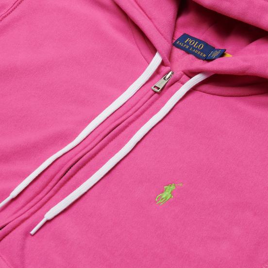 Женская толстовка Polo Ralph Lauren Featherweight Fleece Zip Hoodie Peony