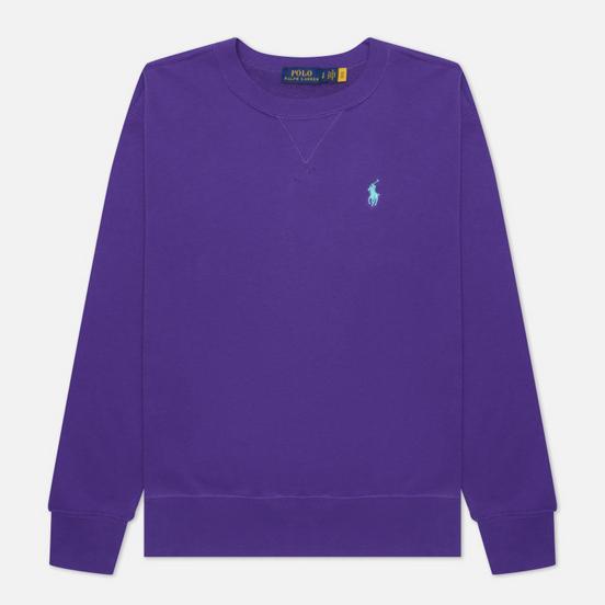 Женская толстовка Polo Ralph Lauren Polo Pony Mini Logo Featherweight Fleece Purple Rage