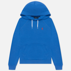 Женская толстовка Polo Ralph Lauren Polo Pony Mini Logo Hoodie Resort Blue