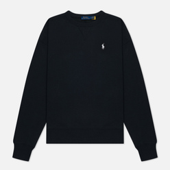 Женская толстовка Polo Ralph Lauren Embroidered Pony Crew Neck Black