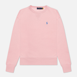 Женская толстовка Polo Ralph Lauren Embroidered Pony Crew Neck Resort Pink