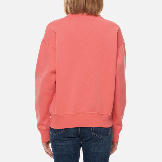 Женская толстовка Polo Ralph Lauren Embroidered Pony Crew Neck Amalfi Red