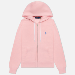 Женская толстовка Polo Ralph Lauren Full-Zip Fleece Hoodie Resort Pink