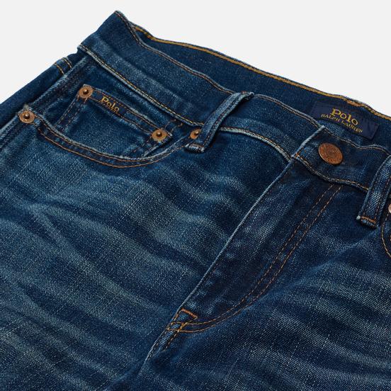Женские джинсы Polo Ralph Lauren Tompkins Skinny Crop NW Rosaleen Wash Dark Indigo