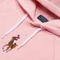 Женская толстовка Polo Ralph Lauren Big Pony Embroidered Hoodie Resort Pink фото - 1