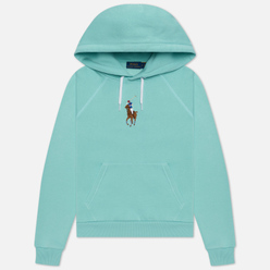 Женская толстовка Polo Ralph Lauren Big Pony Embroidered Hoodie Parakeet