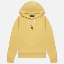 Женская толстовка Polo Ralph Lauren Big Pony Embroidered Hoodie Banana Peel