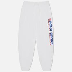 Женские брюки Polo Ralph Lauren Polo Sport Fleece Ankle Jogger White