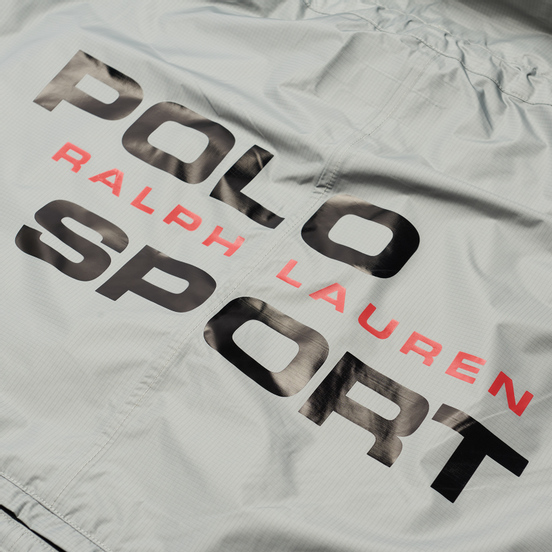 Женская куртка Polo Ralph Lauren Polo Sport Ripstop Poncho Soft Grey