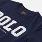 Женская футболка Polo Ralph Lauren Polo Logo Cotton Jersey Cruise Navy фото - 1