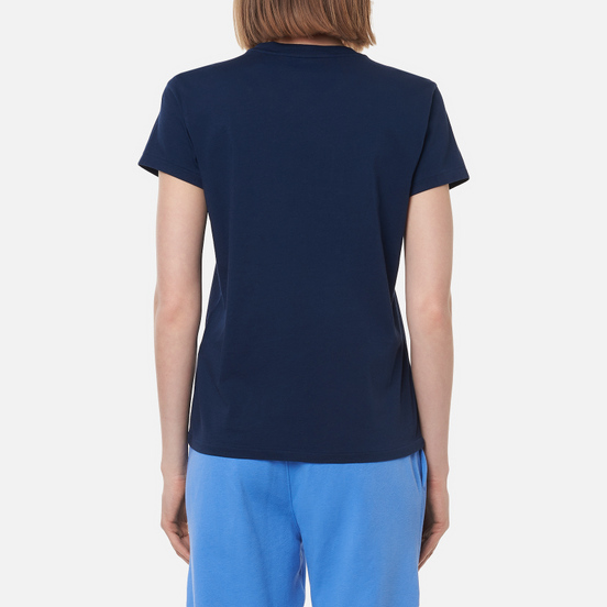 Женская футболка Polo Ralph Lauren Polo Logo Cotton Jersey Cruise Navy