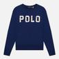 Женская толстовка Polo Ralph Lauren Seashell Logo Featherweight Fleece Holiday Navy фото - 0