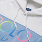 Женская толстовка Polo Ralph Lauren Ombre Logo Fleece Panel Hoodie White фото - 1