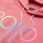 Женская толстовка Polo Ralph Lauren Ombre Logo Fleece Hoodie Ribbon Pink фото - 1