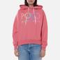 Женская толстовка Polo Ralph Lauren Ombre Logo Fleece Hoodie Ribbon Pink фото - 2