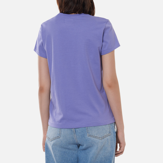 Женская футболка Polo Ralph Lauren Signature Big Pony Hyacinth