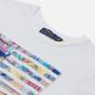 Женская футболка Polo Ralph Lauren Madras-Flag White фото - 1