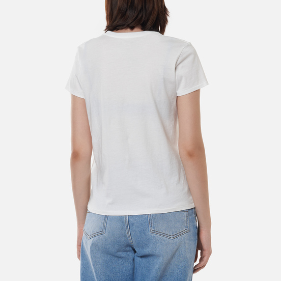 Женская футболка Polo Ralph Lauren Peace Love Polo White
