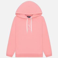 Женская толстовка Polo Ralph Lauren Big Pony Loopback Fleece Hoodie Ribbon Pink