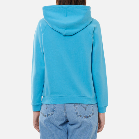 Женская толстовка Polo Ralph Lauren Big Pony Loopback Fleece Hoodie Perfect Turquoise
