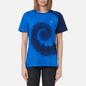 Женская футболка Polo Ralph Lauren Spiral Tie-Dye Big Fit Blue Ocean Spiral фото - 2