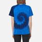 Женская футболка Polo Ralph Lauren Spiral Tie-Dye Big Fit Blue Ocean Spiral фото - 3