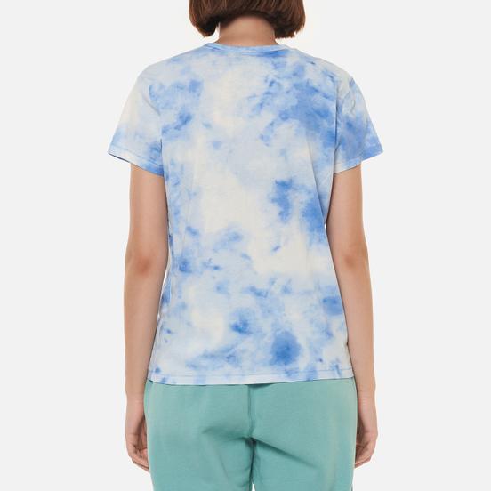 Женская футболка Polo Ralph Lauren Bleached RL Bleached Indigo