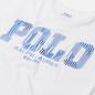 Женская футболка Polo Ralph Lauren Patchwork Printed Logo White фото - 1