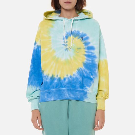 Женская толстовка Polo Ralph Lauren Spiral Tie-Dye Relaxed Hoodie Tie Dye