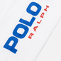 Женский лонгслив Polo Ralph Lauren Polo Sport Cropped Crew Neck White фото - 2