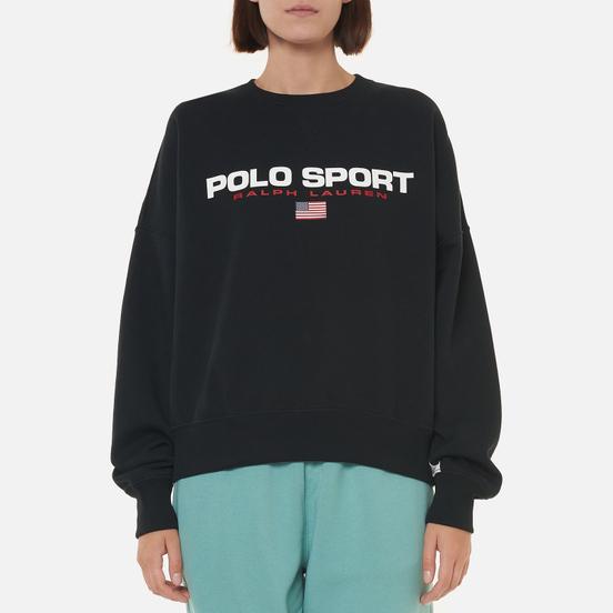 Женская толстовка Polo Ralph Lauren Polo Sport Crew Neck Black/White