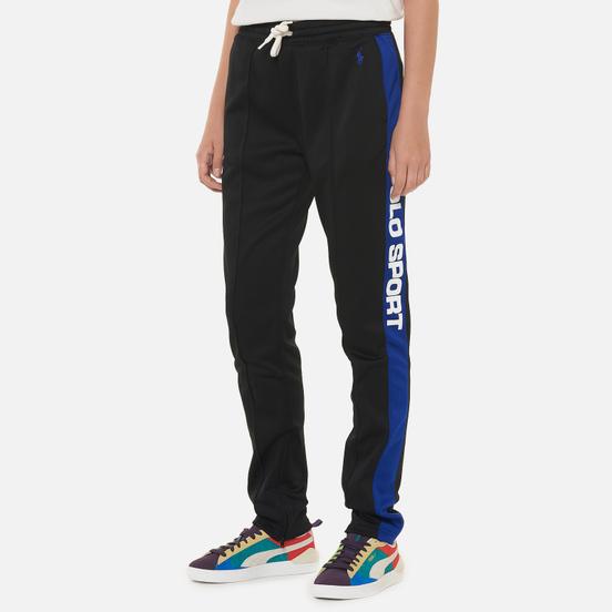 Женские брюки Polo Ralph Lauren Polo Sport Track Full Length Black/Active Royal