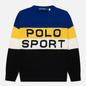 Женский свитер Polo Ralph Lauren Polo Sport Colour-Blocked Black/Active Royal фото - 0