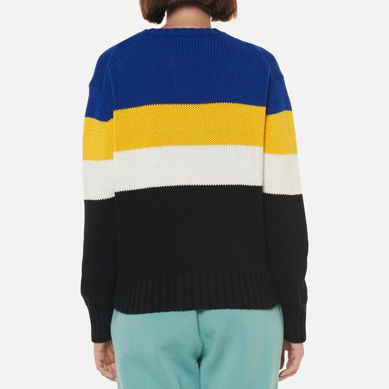Женский свитер Polo Ralph Lauren Polo Sport Colour-Blocked Black/Active Royal