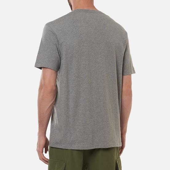 Мужская футболка maharishi Pocket Grey Marl