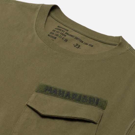 Мужская футболка maharishi Pocket Olive
