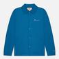 Мужская куртка Champion Reverse Weave Script Logo Coach Nautical Blue фото - 0