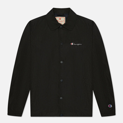 Мужская куртка Champion Reverse Weave Script Logo Coach Black