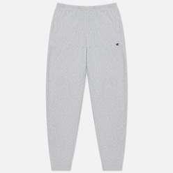 Мужские брюки Champion Reverse Weave Ribbed Cuffed Joggers Light Grey