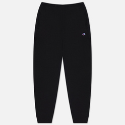 Мужские брюки Champion Reverse Weave Ribbed Cuffed Joggers Black