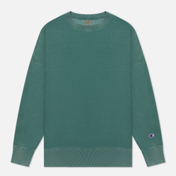 Мужская толстовка Champion Reverse Weave Garment Dye Crew Neck Teal