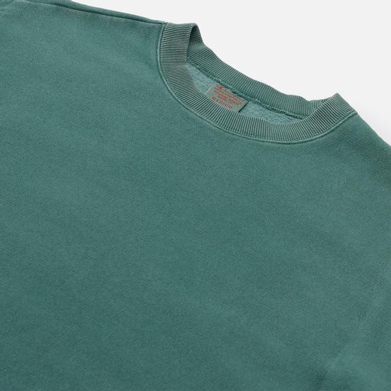 Мужская толстовка Champion Reverse Weave Garment Dye Crew Neck Teal